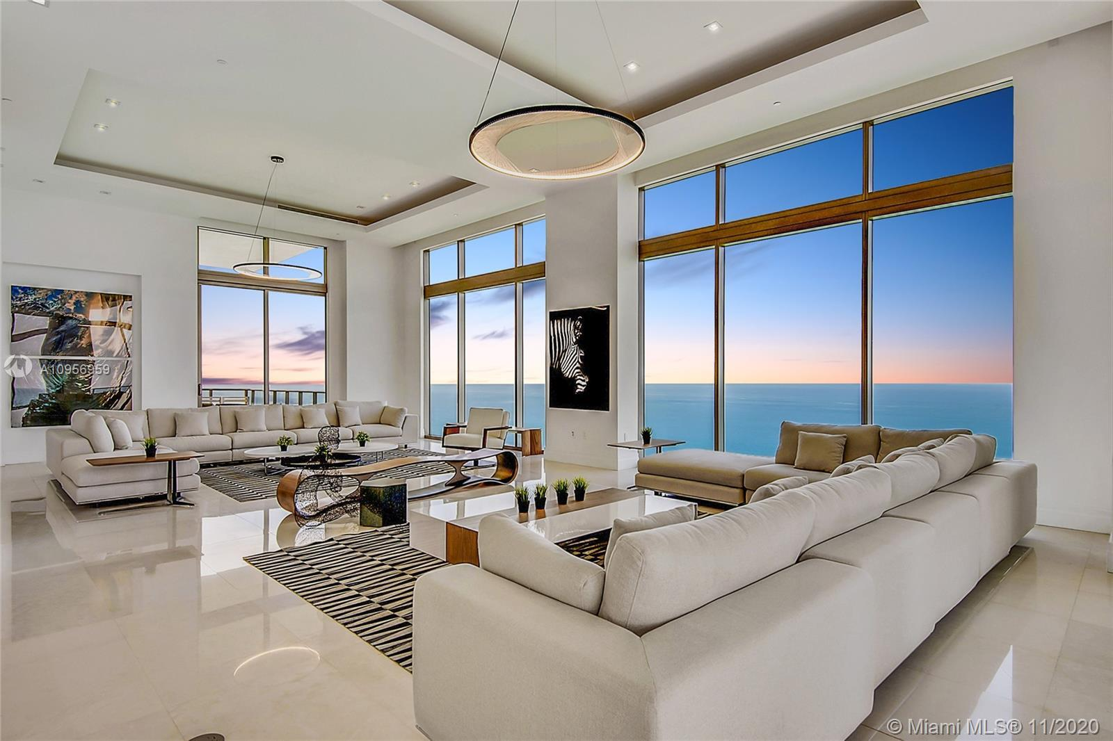 This mesmerizing Penthouse represents the pinnacle of upscale oceanfront living. Finished with the f