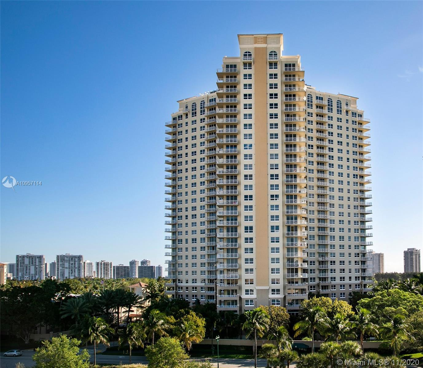 LOCATION!...BUILDING SITS ON TURNBERRY ISLES GOLF COURSE, VERY WELL MAINTAINED BLDG W/TONS OF AMENIT