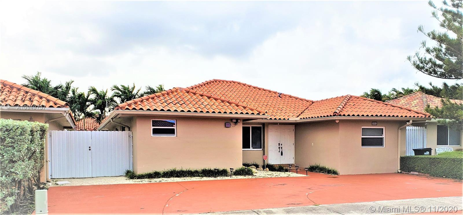 Beautiful  4/3 bath property, ready to move in, with no HOA approval. The property consisting of 3/2 with in-law quarter 1/1 with own bathroom to bring your love ones. must see.