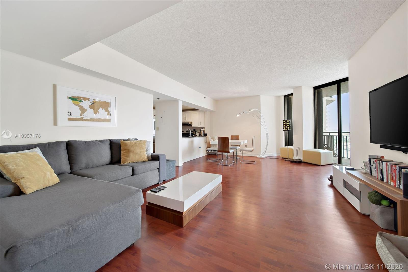 Spacious, renovated, turnkey 1 bedroom with almost 800 SqFt of living space on the exclusive Island