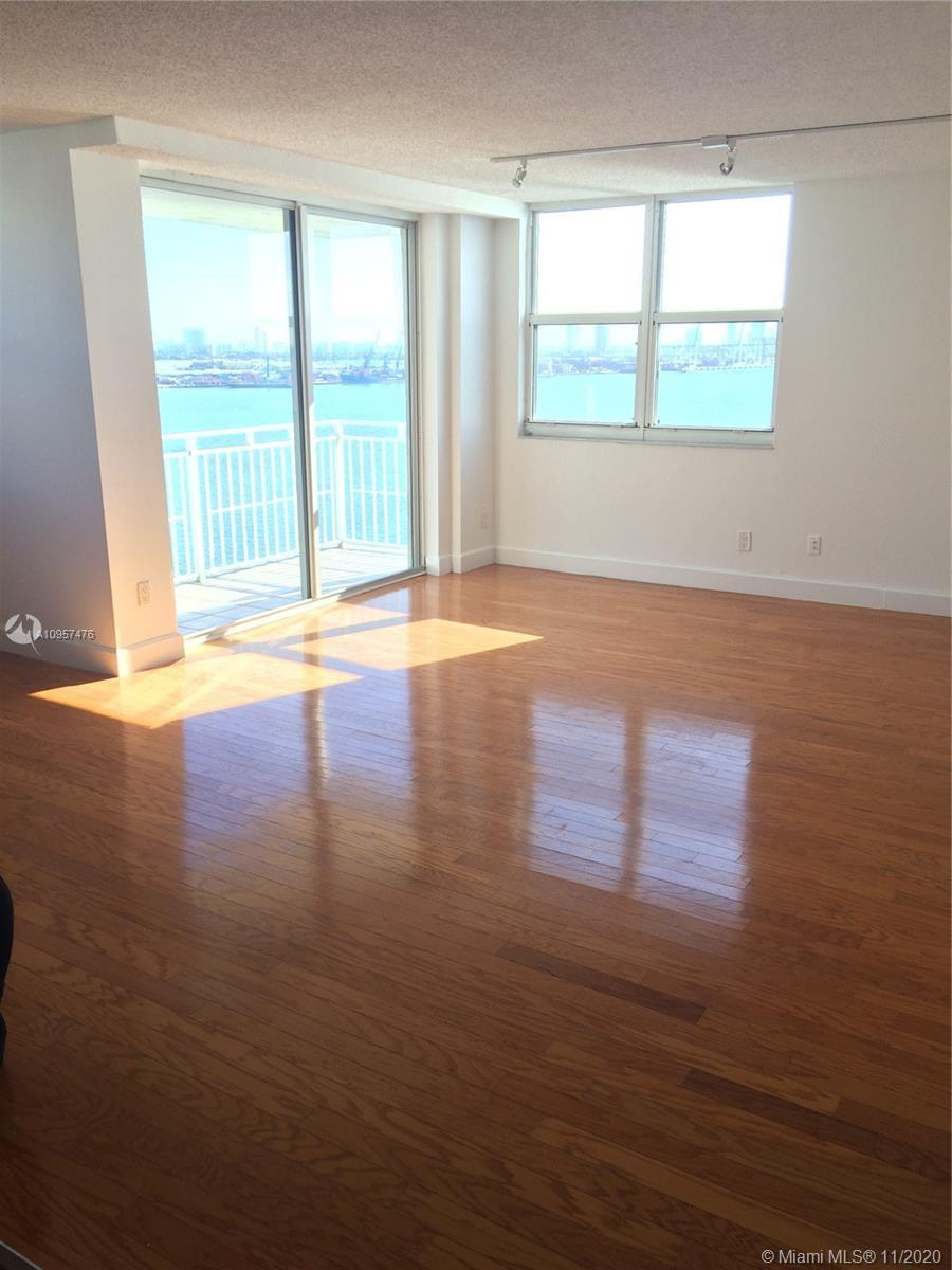 Great 2 bedrooms, 2 bathrooms with breath taking water view. Amenities included , tennis court, pool