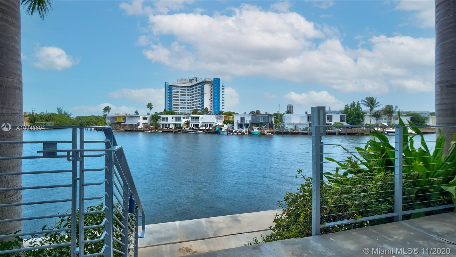 Direct Water View, boat slip available w/unit. Fee Simple, New modern construction 2016, private ele