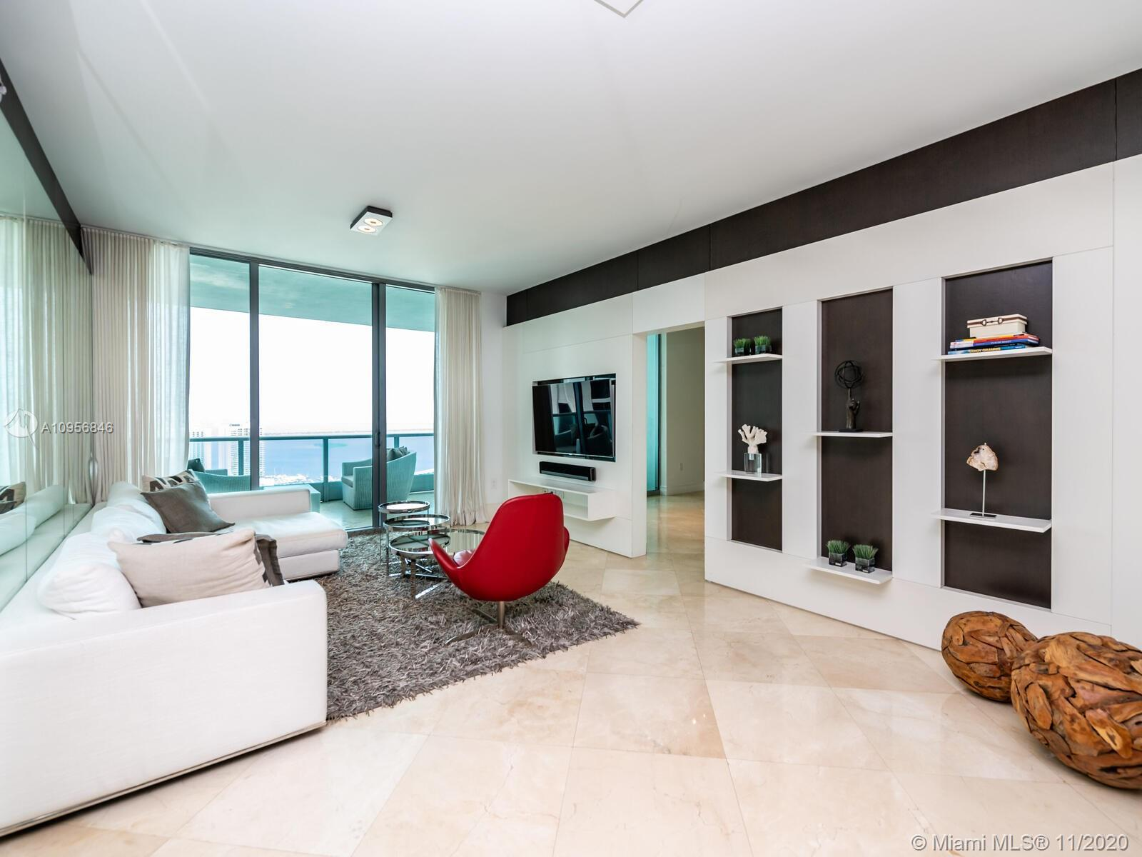 Professionally furnished unit with custom finishes designed by Casa Q. Beautiful 2 Bedroom & 3 Bath