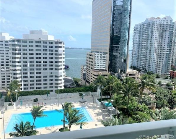 The Plaza at Brickell ! Bayview ! 2 Bedrooms/2 Baths. Must see!