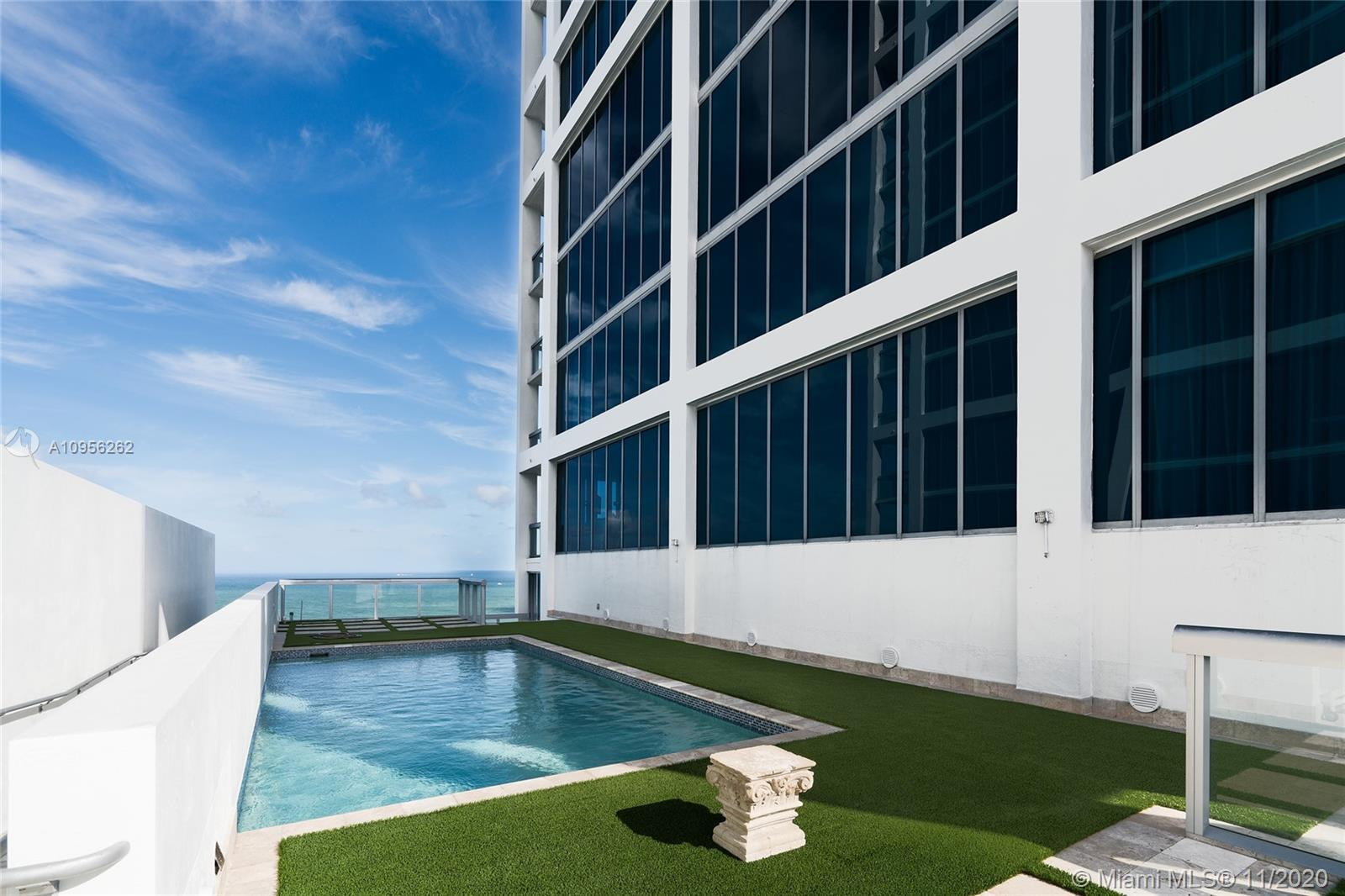 Opportunity to live in the only unit in the Carillion Miami with a unique 3,000 sf rooftop terrace w