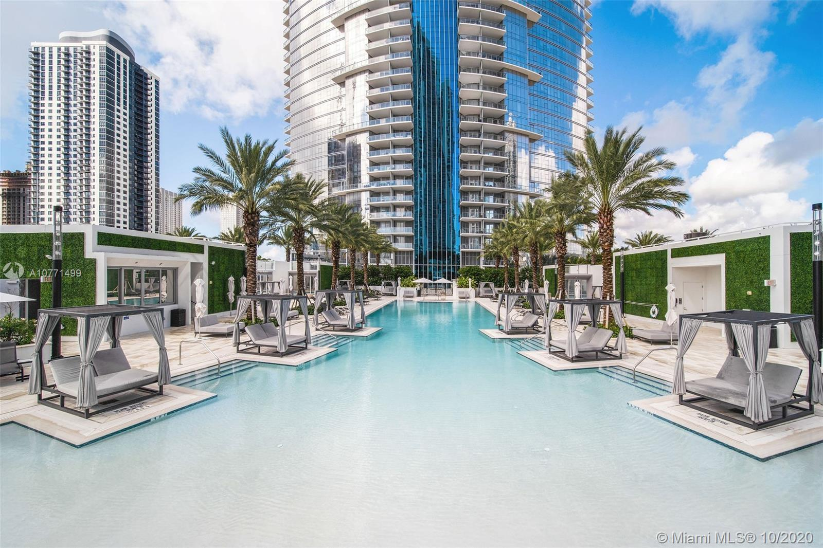 "Indulge your senses in this 3 bed + den at Paramount Miami Worldcenter boasting the ""Most Amenities"