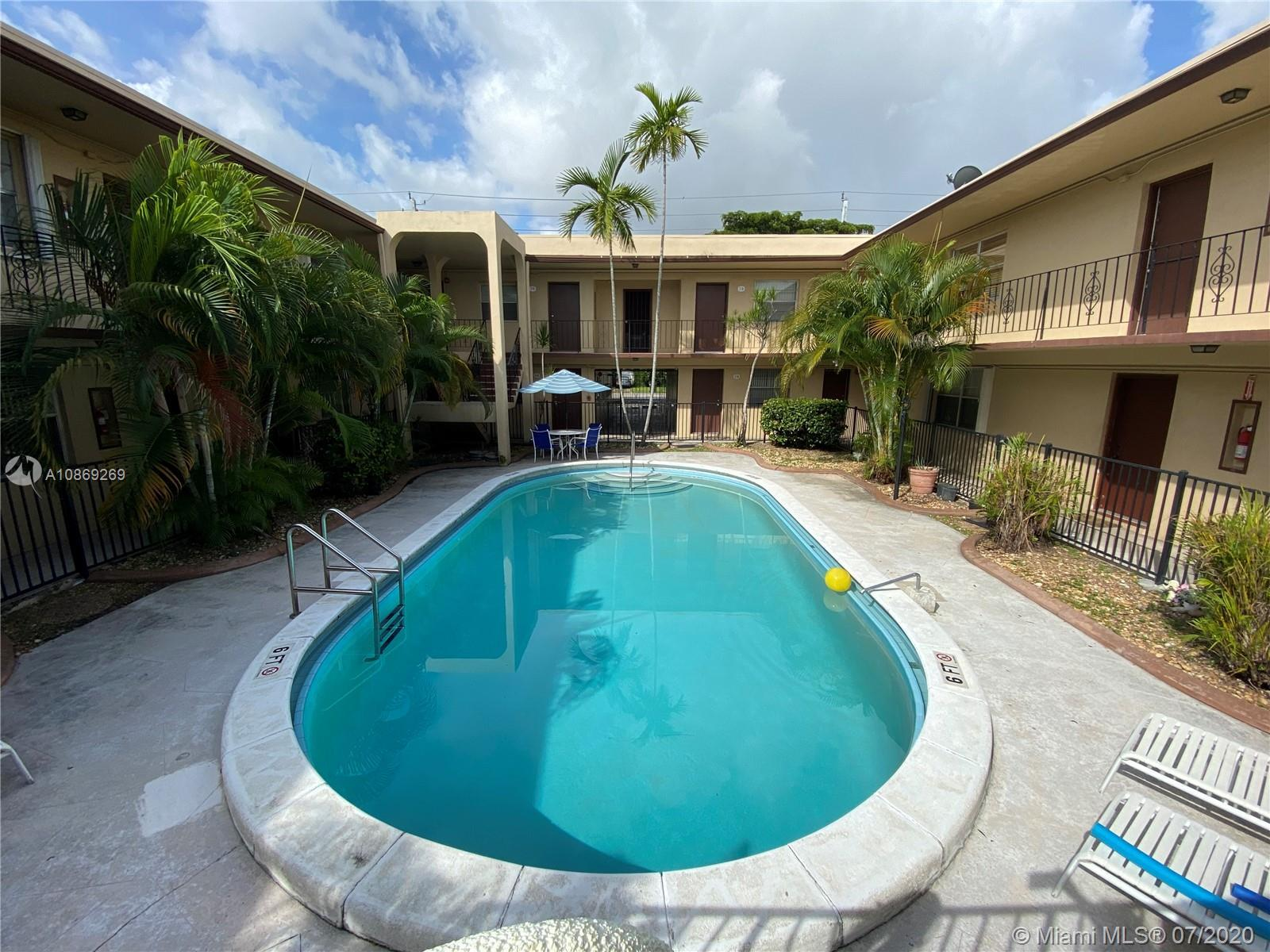 Excellent 2/2 condo for rent in Miami Springs! Unit is on the ground floor on a corner. Features tiled flooring, central A/C, 2 parking spaces, centrally located. Tenant must provide credit/background check for landlord approval. Non-smokers only and no pets please. ASSOCIATION DOES NOT ALLOW ANY PETS.