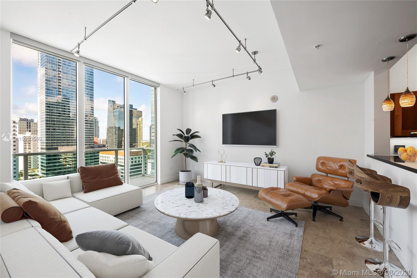 Amazing, move-in ready penthouse at Solaris at Brickell Bay!  Walk-in to this beautiful 2 bedroom an