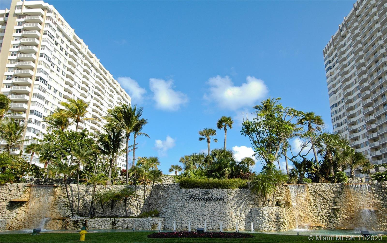 BEAUTIFUL 2/2 APARTMENT AT THE HEMISPHERES OCEAN SOUTH BUILDING WITH DIRECT OCEAN FRONT VIEWS. REMOD