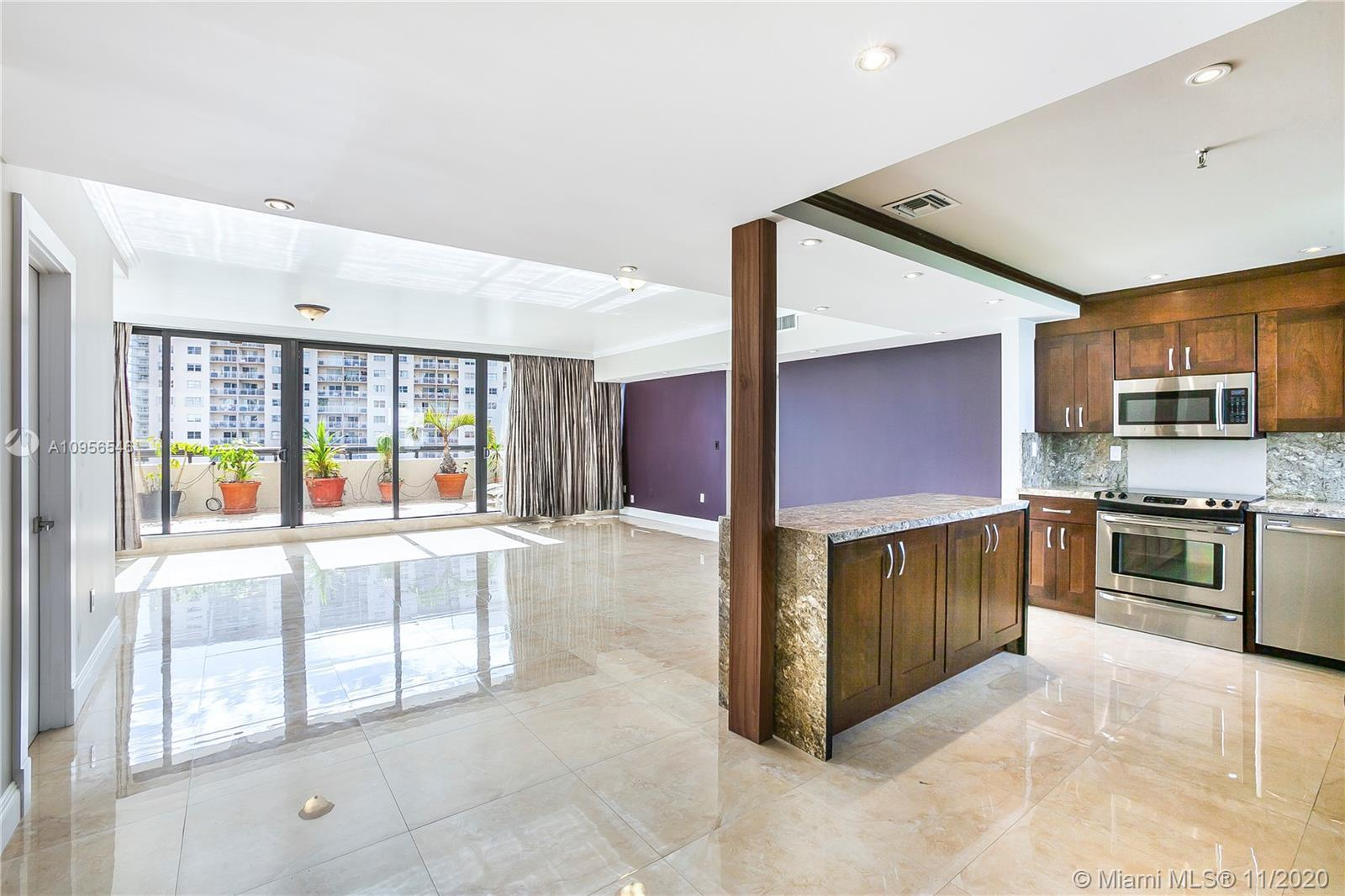 GORGEOUS UPGRADED PENTHOUSE with elevator that opens directly to unit. Come see this 2 BR/2.5 BA cor