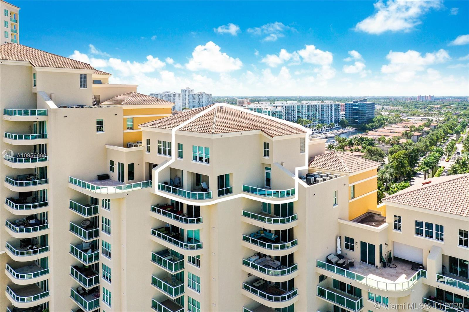 "Penthouse at ""Aventura Marina"" located in the heart of Aventura. Amazing water views of the open bay"