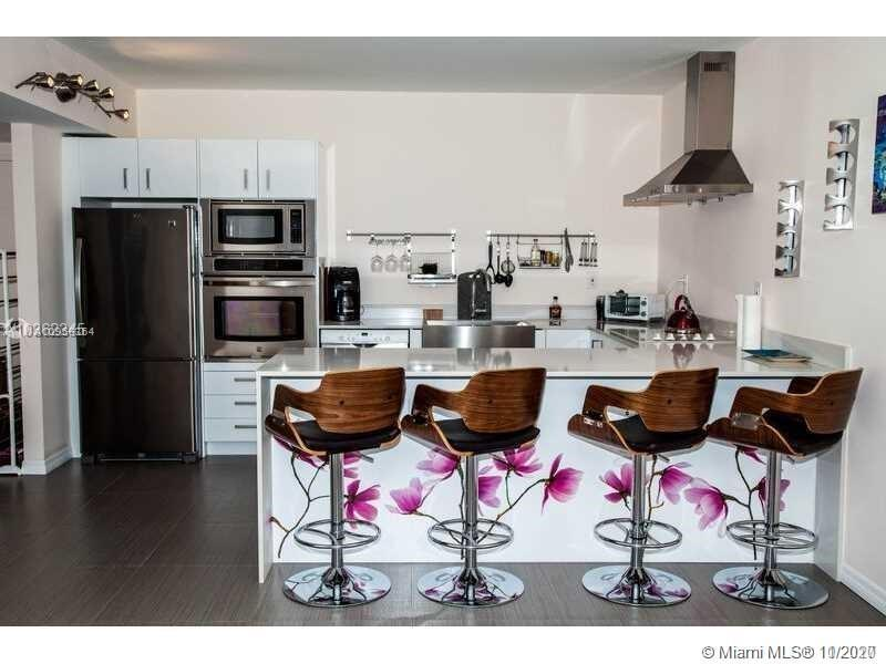 Totally renovated 2 bedroom corner unit with a small den. New open kitchen, both bathrooms completel
