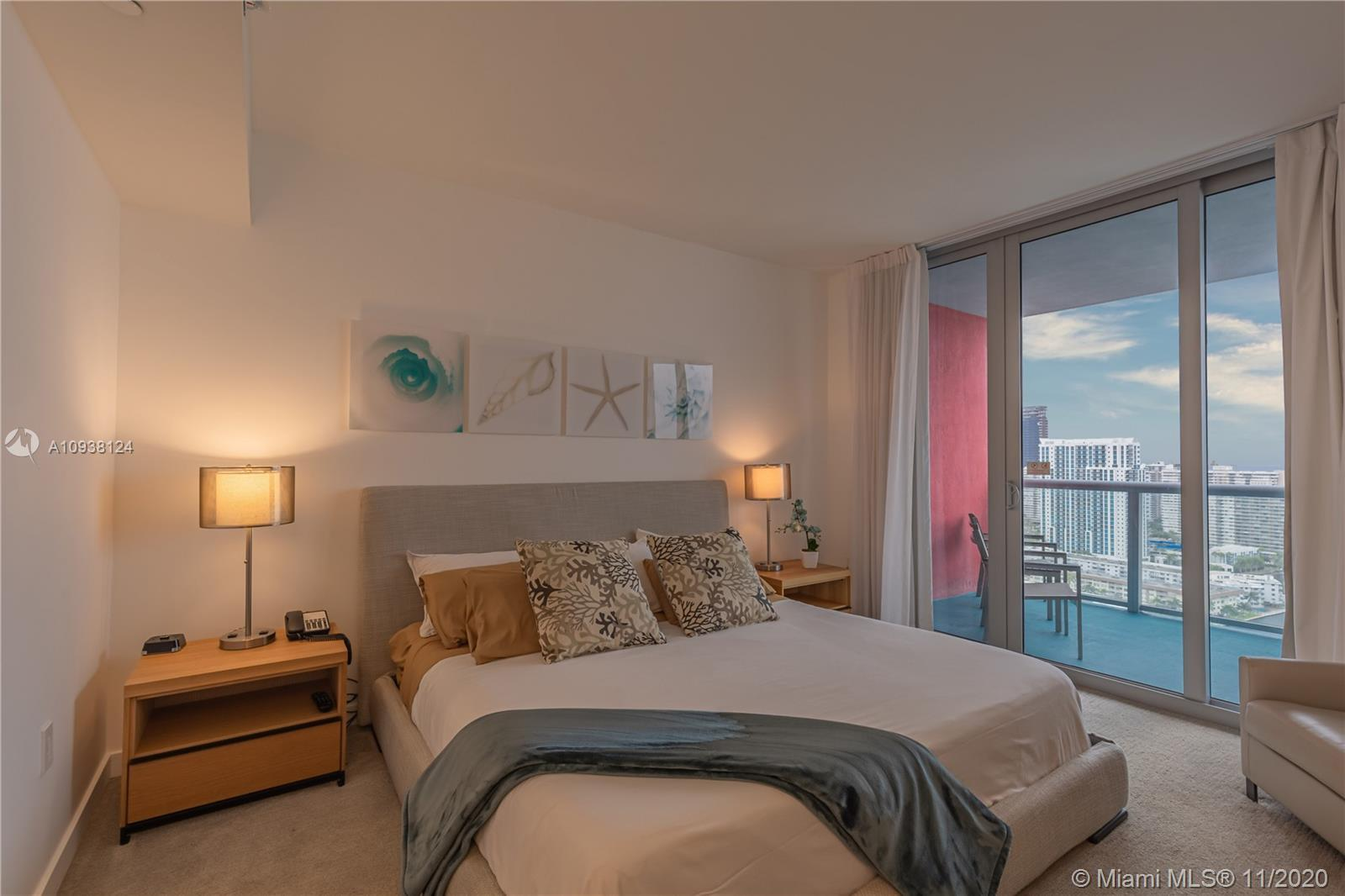 Breathtaking Ocean, Intracoastal & City Skyline views from this Spectacular totally furnished and eq