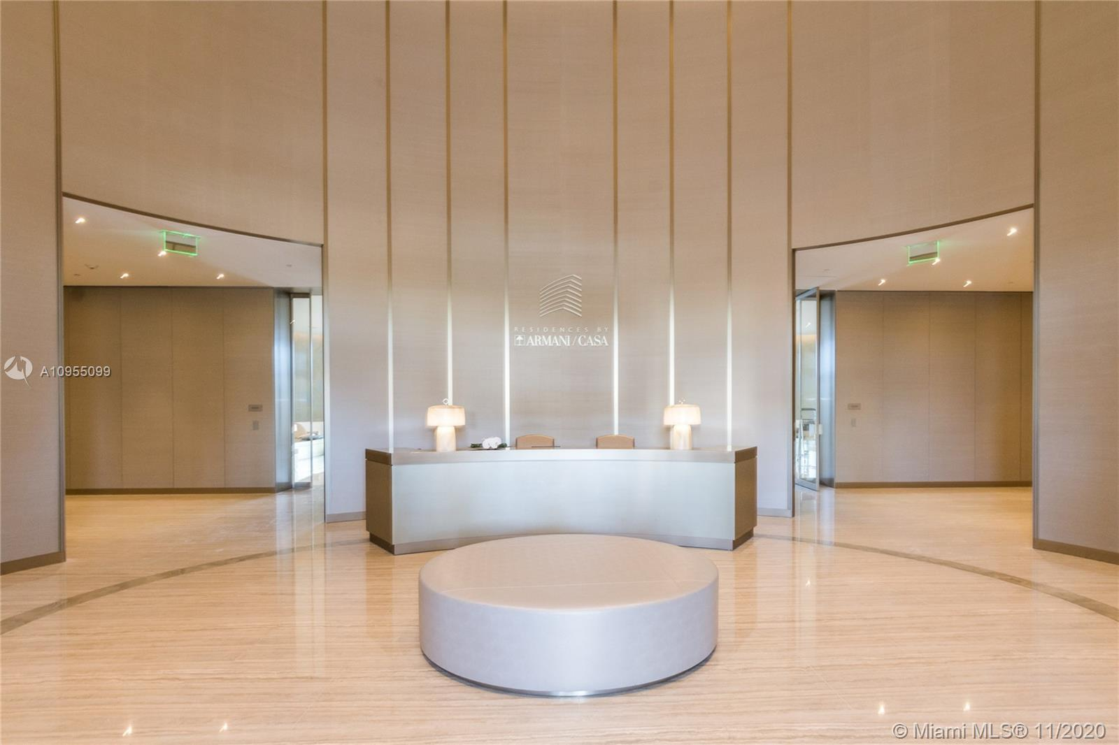NEW 2020 SUNNY ISLES CONDO - THE RESIDENCES BY ARMANI CASA, 2 BEDROOM & 2 BATHROOMS WITH AMAZING OCE