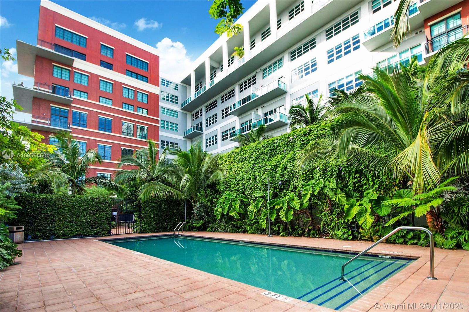 Live in the Epicenter of Miami's Art and Entertainment District.  Authentic NY/Chicago industrial st