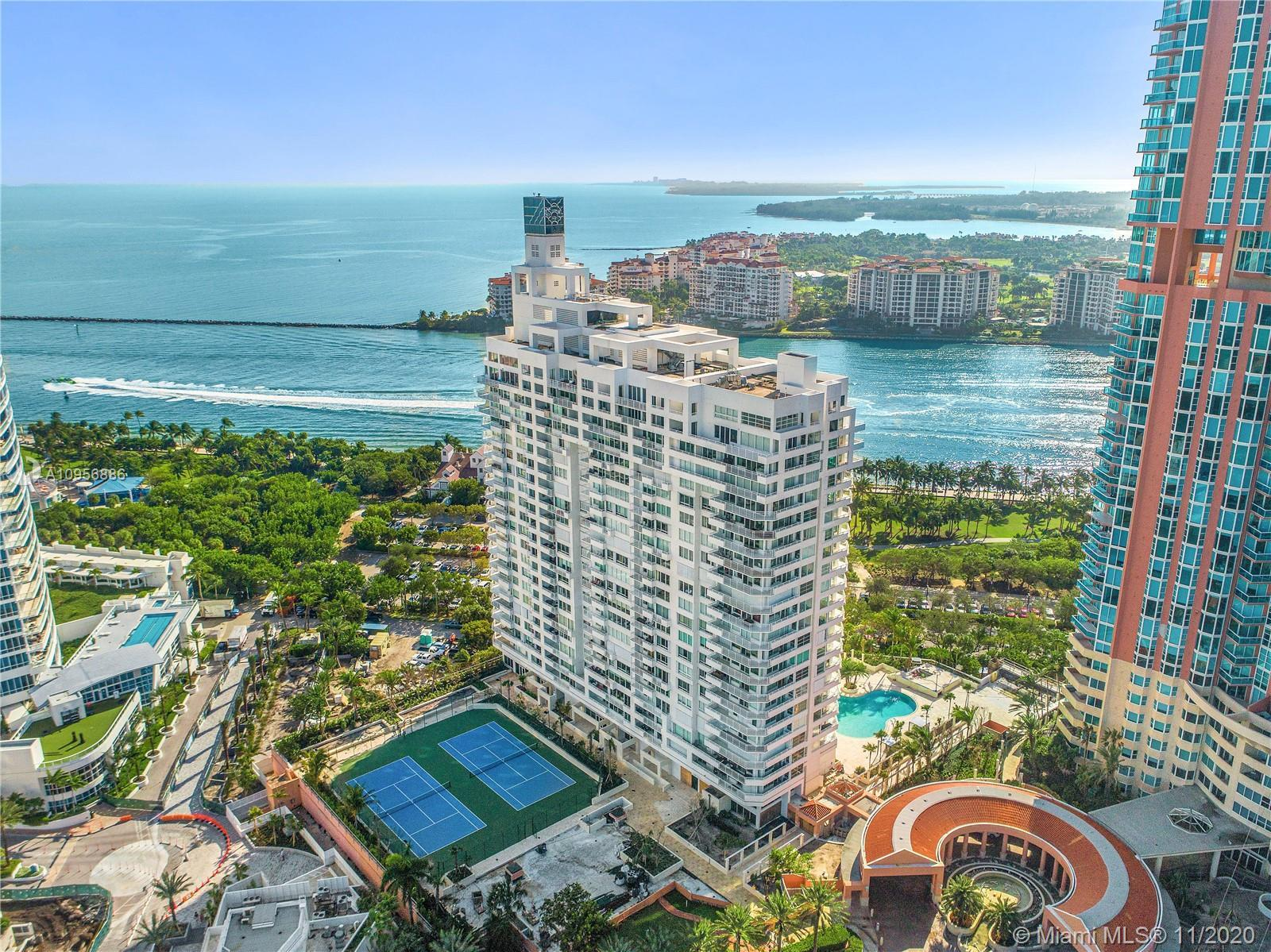 Excellent Opportunity to own this high floor corner apartment in South Pointe Tower. Originally a 3