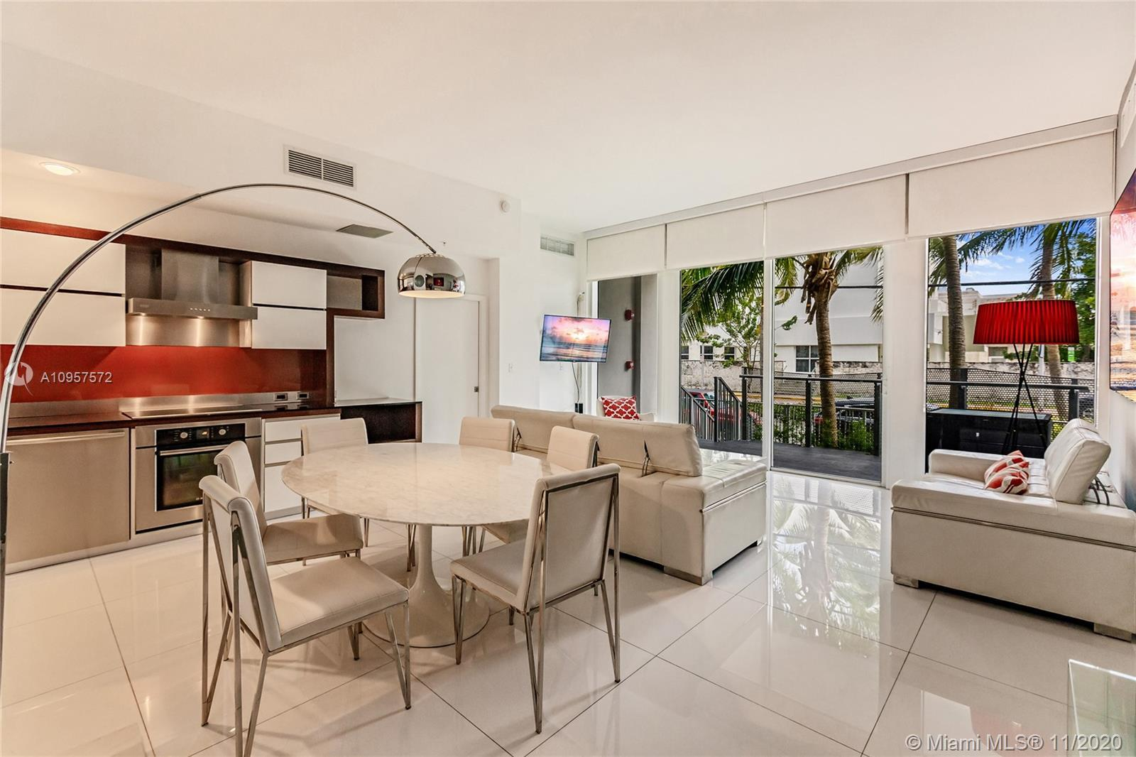 Residence 101 features a spacious loft style lanai with 12 foot ceilings, large rooms and private la