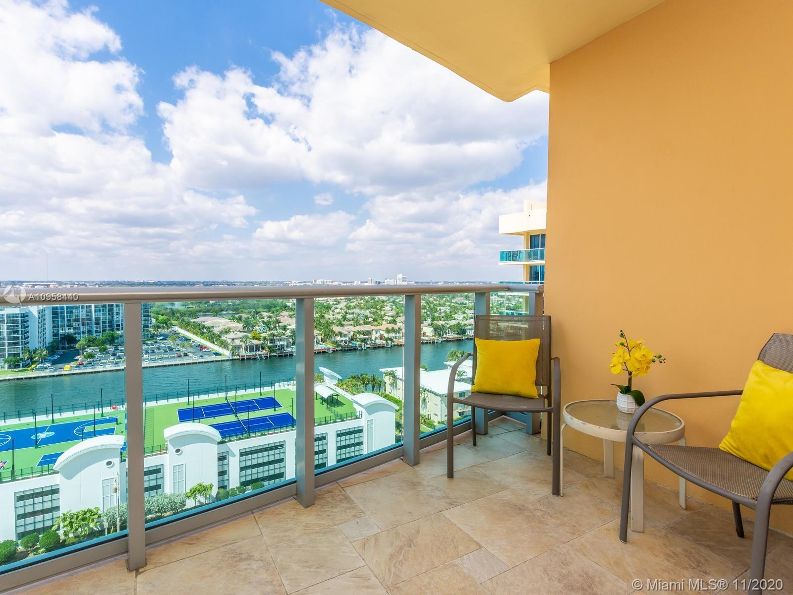 Rarely available bright and spacious Unit with breathtaking Intracoastal and skyline views finally a