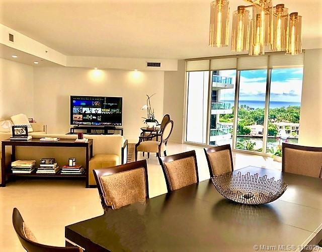 Spectacular Southeast Ocean and Intracoastal views from this spacious corner 3 bedrooms, 3.5 bath un