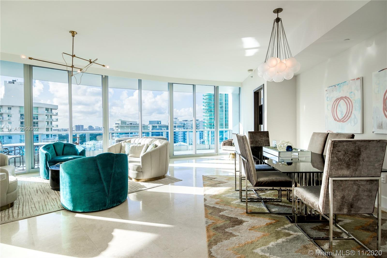 Fully renovated residence with stunning intracoastal views. A private elevator landing opens to a sp