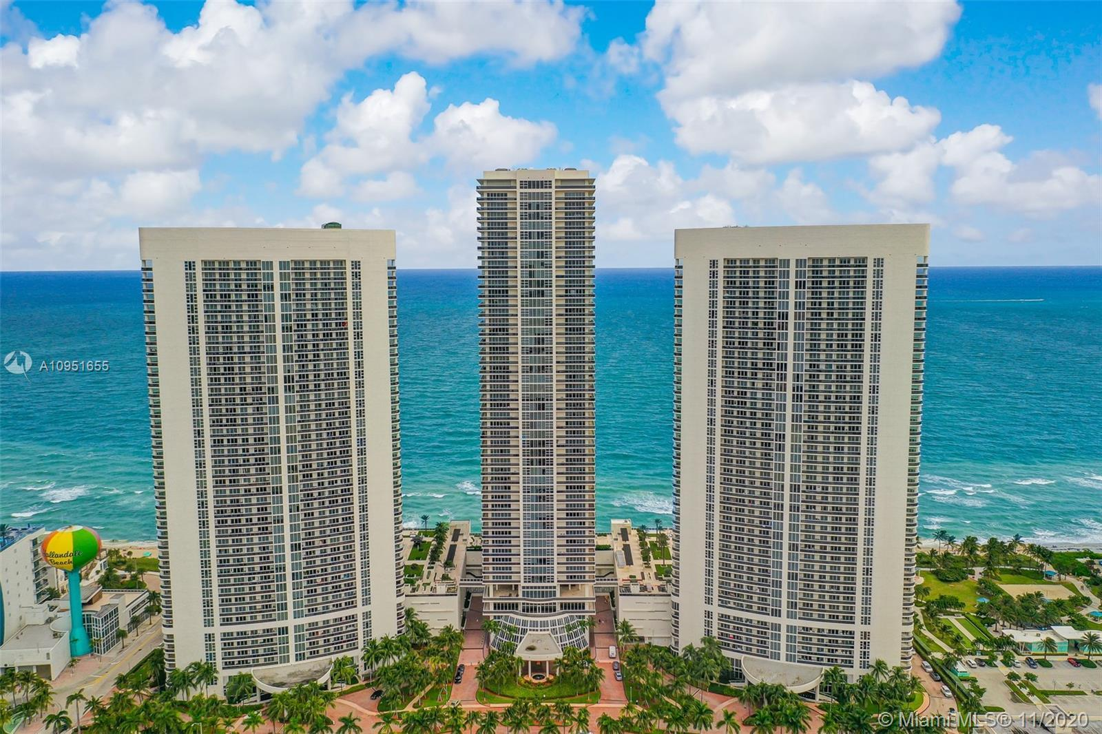 Turnkey oceanfront paradise, City and intracoastal views right from your private balcony. Unit has W