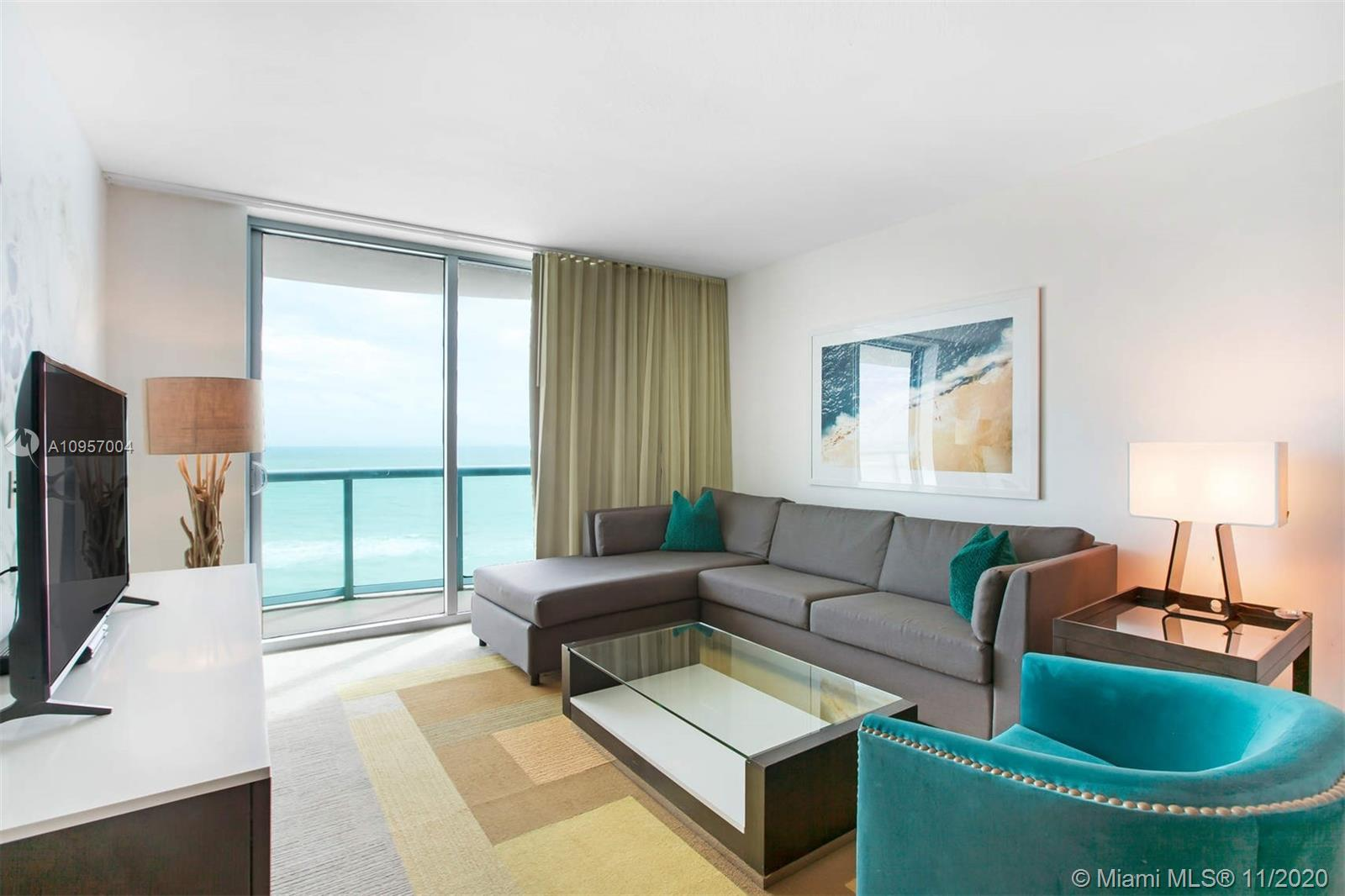 Enjoy unobstructed ocean views on this 2 BD | 2.5 BA residence in this Luxury boutique condo hotel n