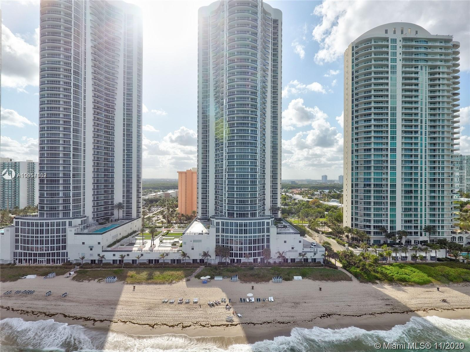 Elegant turnkey oceanfront condo situated on the 40th floor. A private elevator and foyer will take