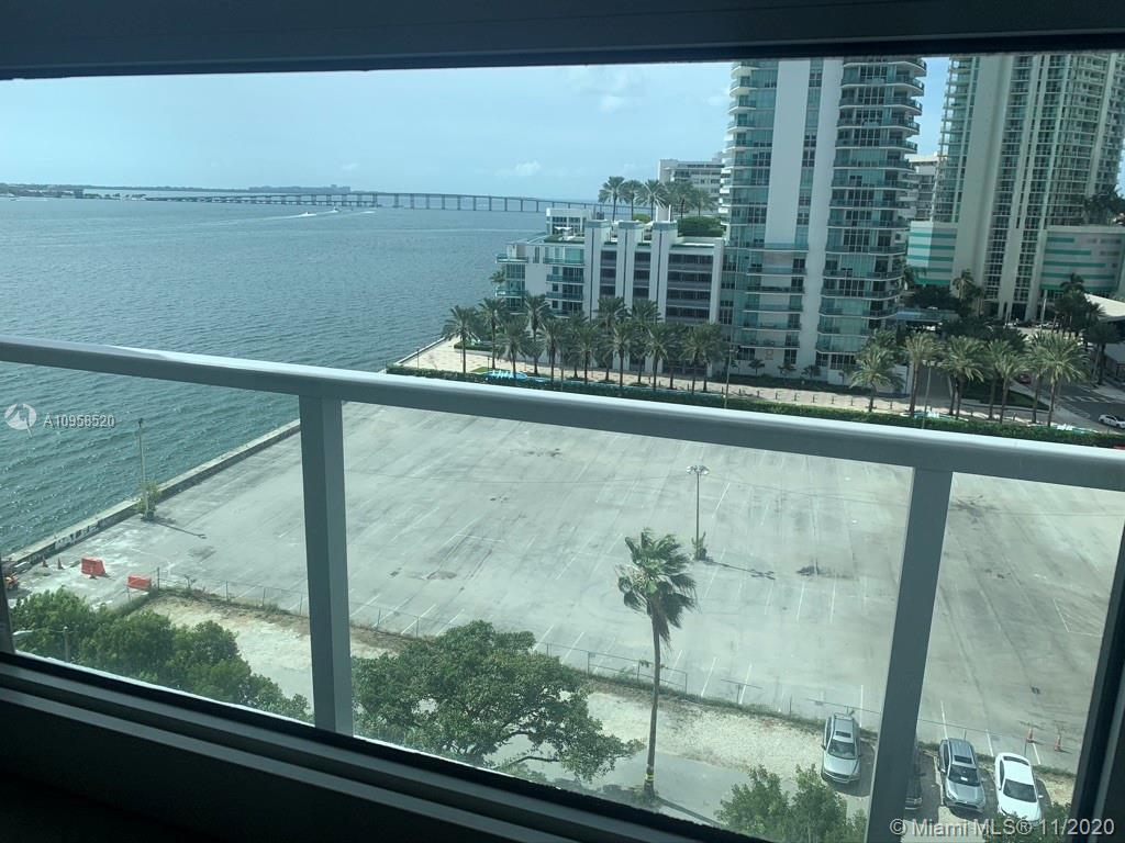 Beautiful 1 Bed / 1 bath unit with an amazing view of Biscayne Bay and the city to enjoy the sunset