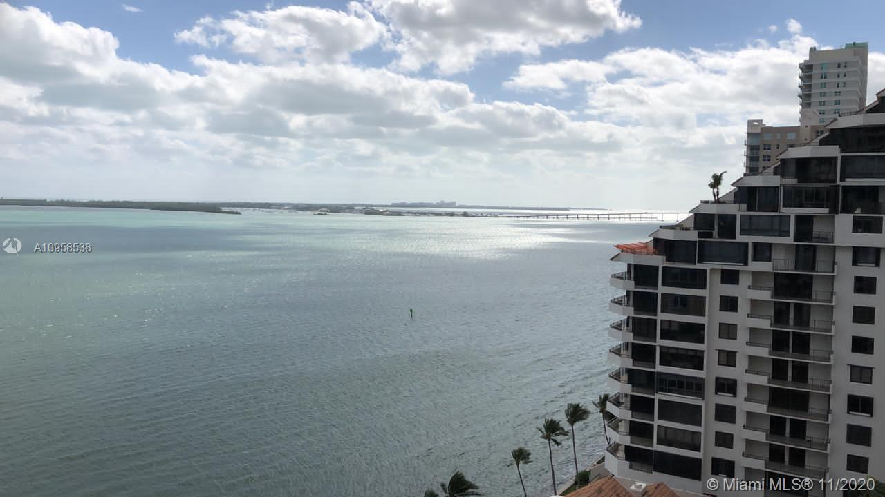 The Brickell Key II condo that stand up and take its place in the Miami skyline are located near the