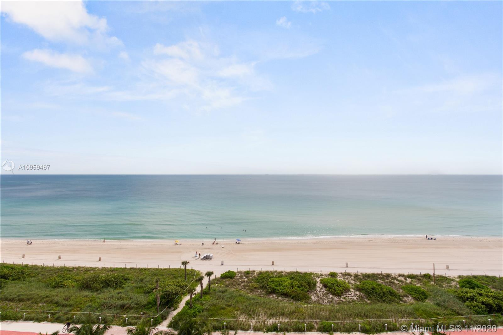 """Gorgeous Unobstructed Direct Ocean Views from your 42 foot long Balcony overlooking Miami Beach on """""""