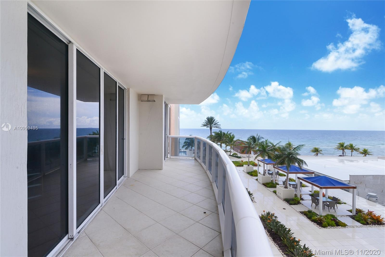 Ocean Three condo located in Sunny Isles Beach offered for sale. Fully furnished two bedroom & two b