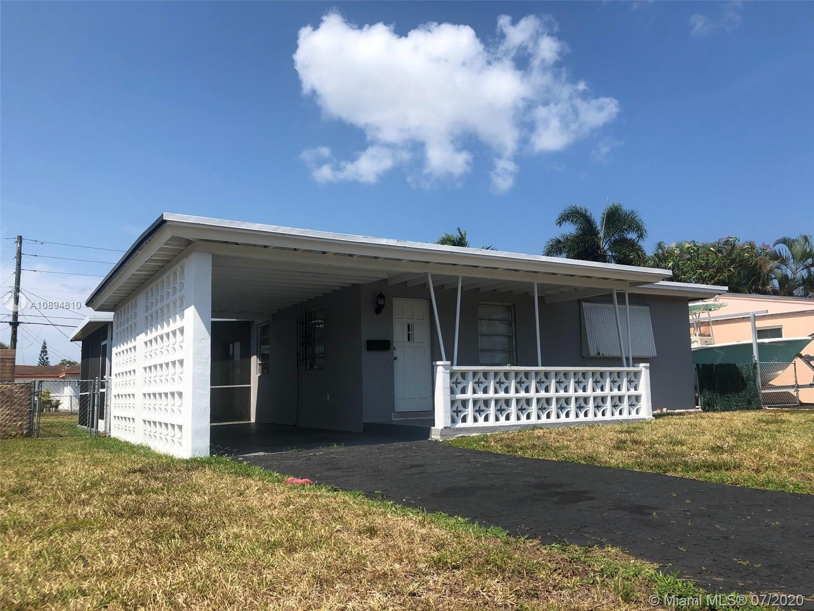 Great opportunity! Remodeled cozy home 2 bed, 2 bath, Carport, Screened Patio, New Central A/C, larg