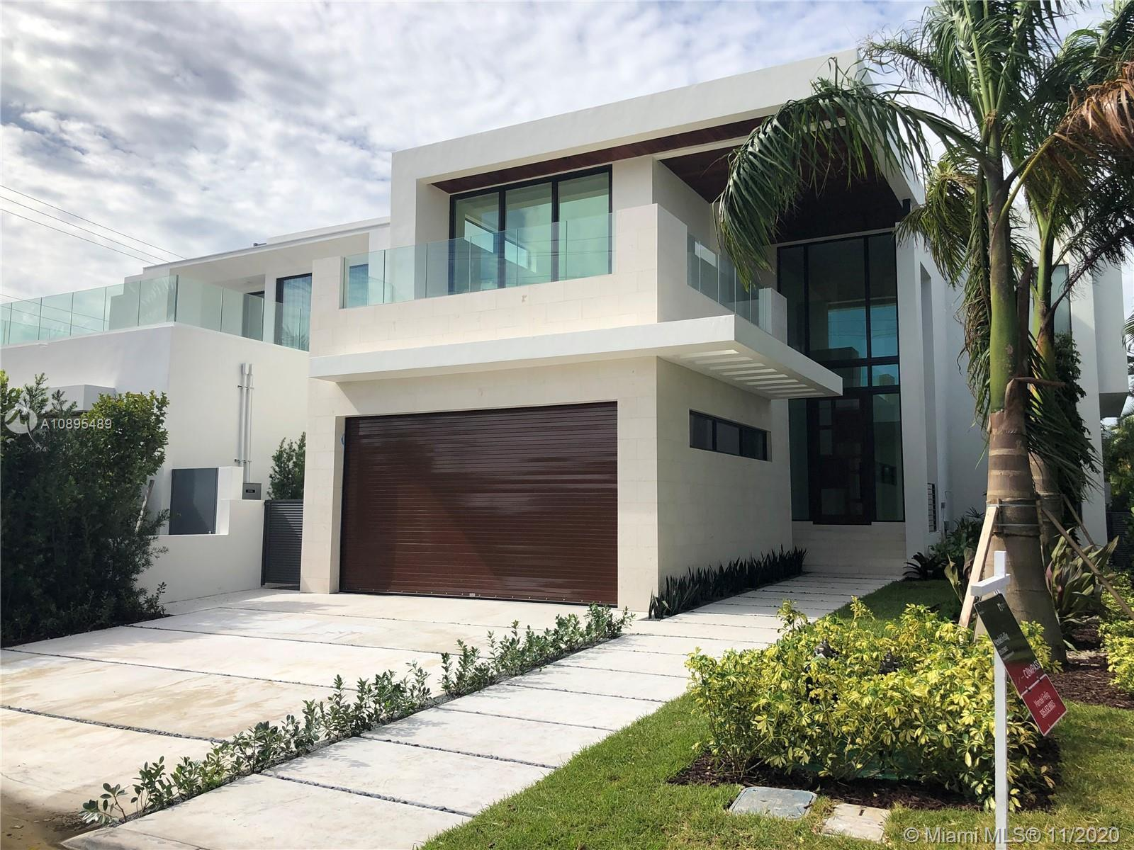 In perfect harmony of beauty and function, this New Construction, 50' wide waterfront Smart Home, de