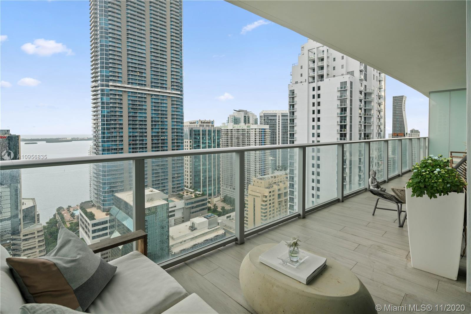 New home in the sky living!! Stunning Skyline and water views apartment 2 bedroom / 2 bath located i