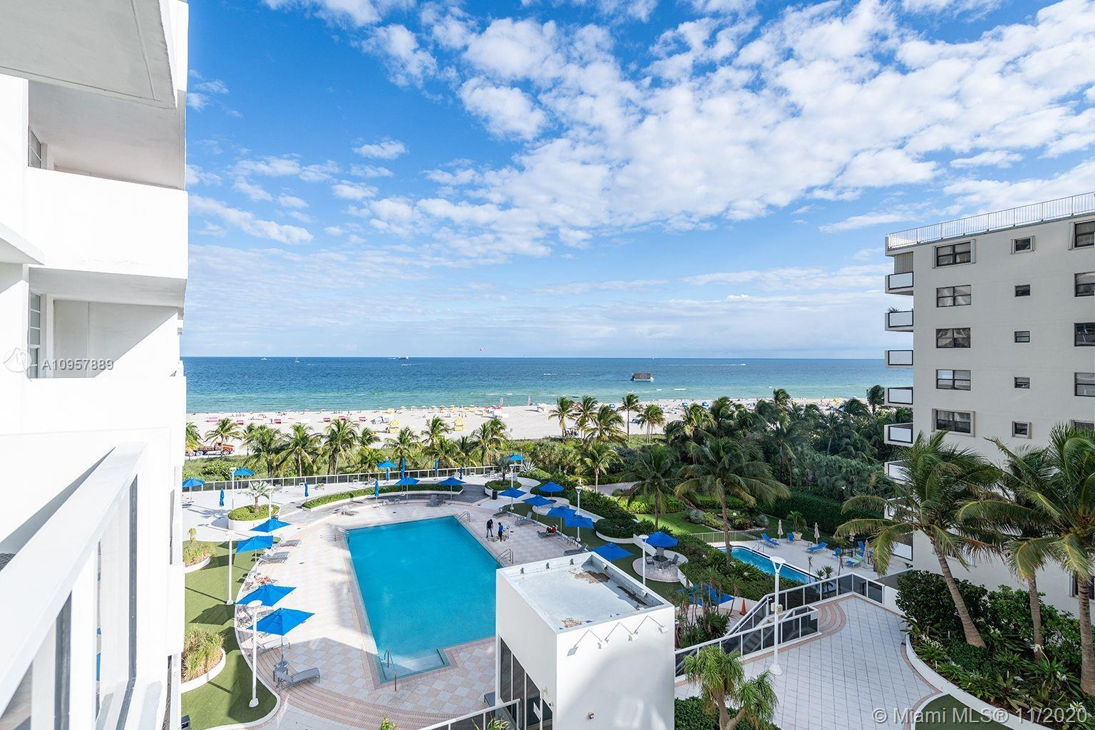 JR. 1 BEDROOM FEATURING A SOUTHEASTERN EXPOSURE WITH AN AMAZING OCEAN VIEW!  IN THE HEART OF SOUTH