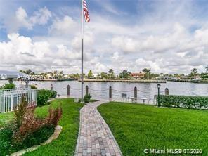 Lovely 2 BR 2 BA unit directly on the Intercoastal Waterway!  1300+ sq ft, including enclosed lanai.