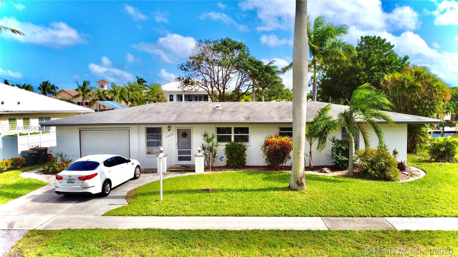 CHARMING WATERFRONT 3B/2B HOUSE IN PRESTIGIOUS CORAL KEY VILLAS OF LIGHTHOUSE POINT * OCEAN ACCESS W