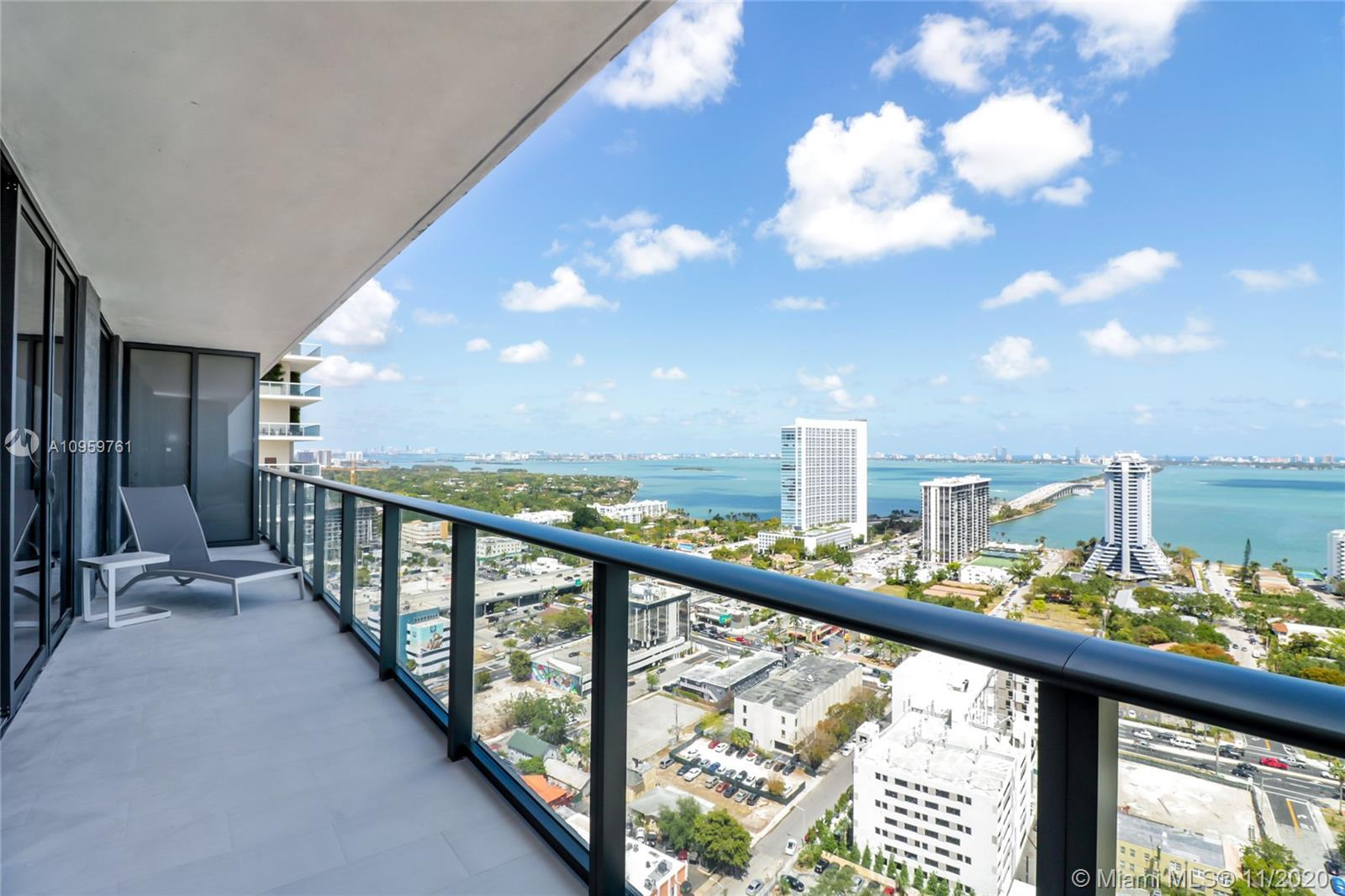 Opportunity.  Priced to sell. Fully Furnished and Decorated Unit at new HYDE Midtown. Split floor pl
