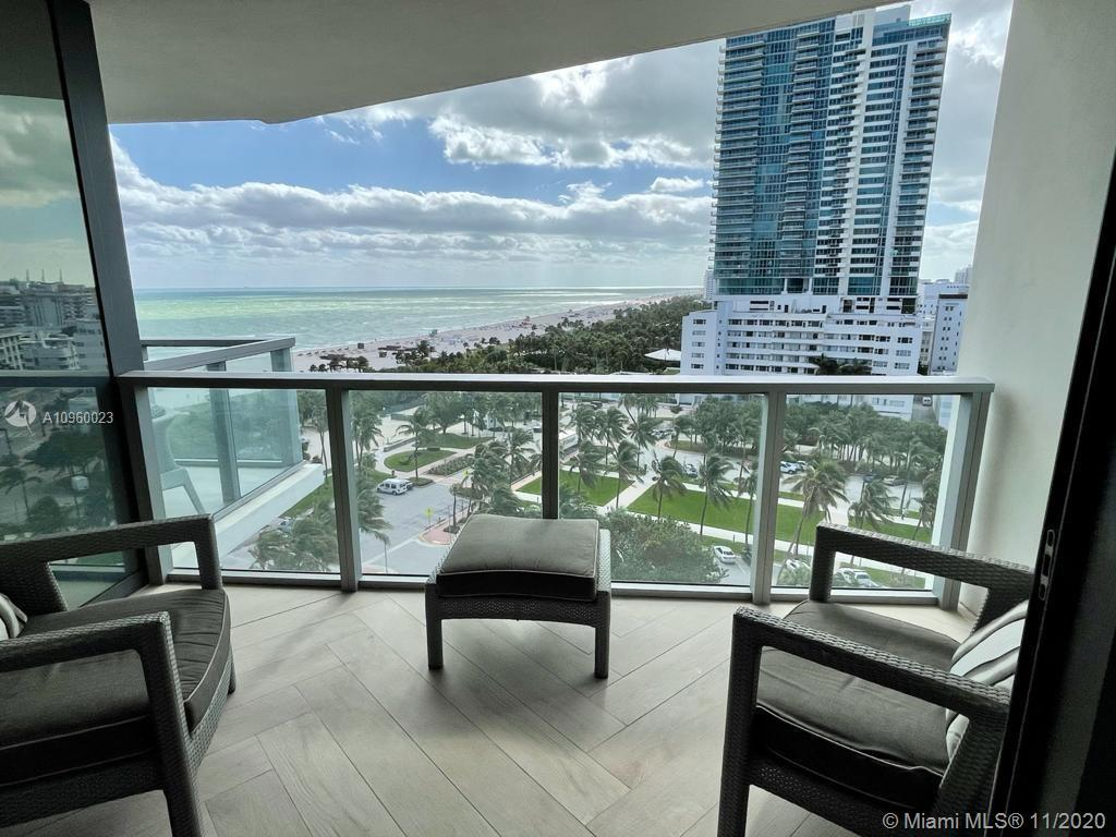 Fully renovated move in ready apt with large size balcony facing to Ocean with Southeast and southwe