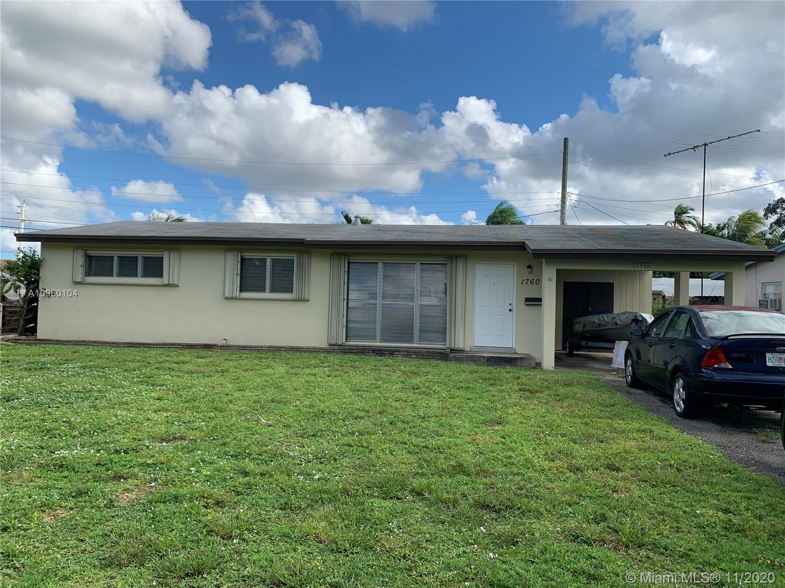 Great investment opportunity in a hot desirable area.  One story home, 3 bedrooms, 2 baths with easy