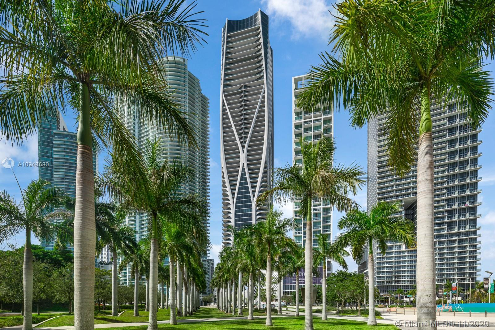 One Thousand Museum by Zaha Hadid. Miami's most prestigious new residential tower, blurs the lines b
