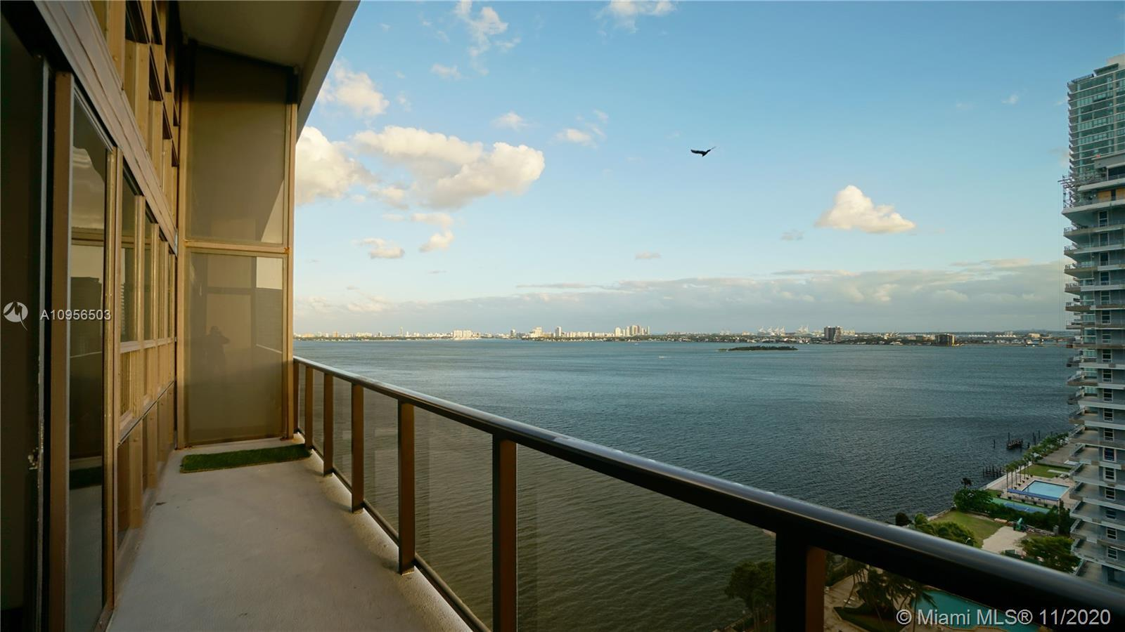 Indulge in this completely renovated, 1850 SF, two story penthouse on the 22nd floor facing south wi