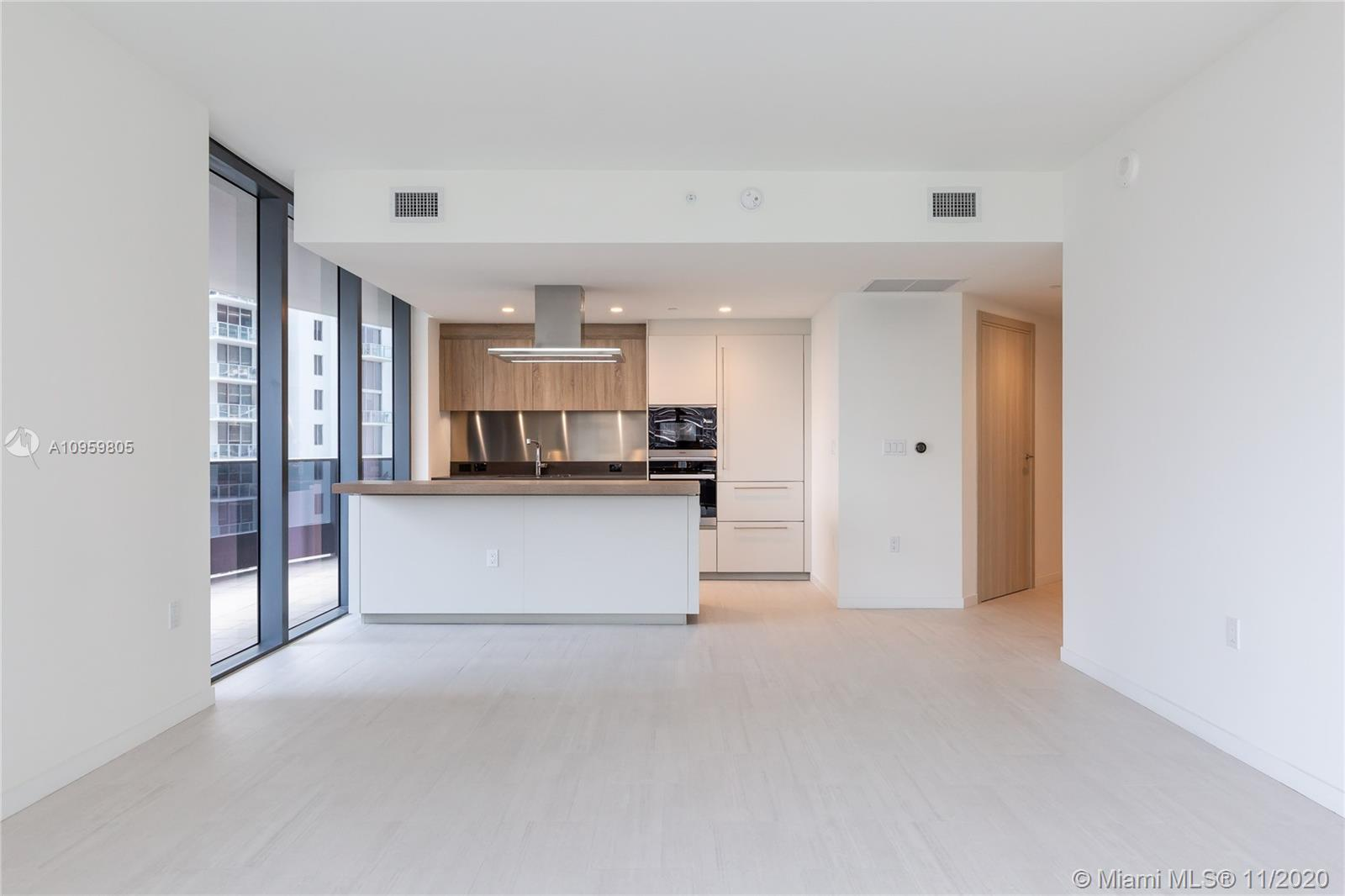 2 Bedroom, 2.5 Bath Plus Den in the center of Brickell. Brickell Flatiron is Brickell's newest and m