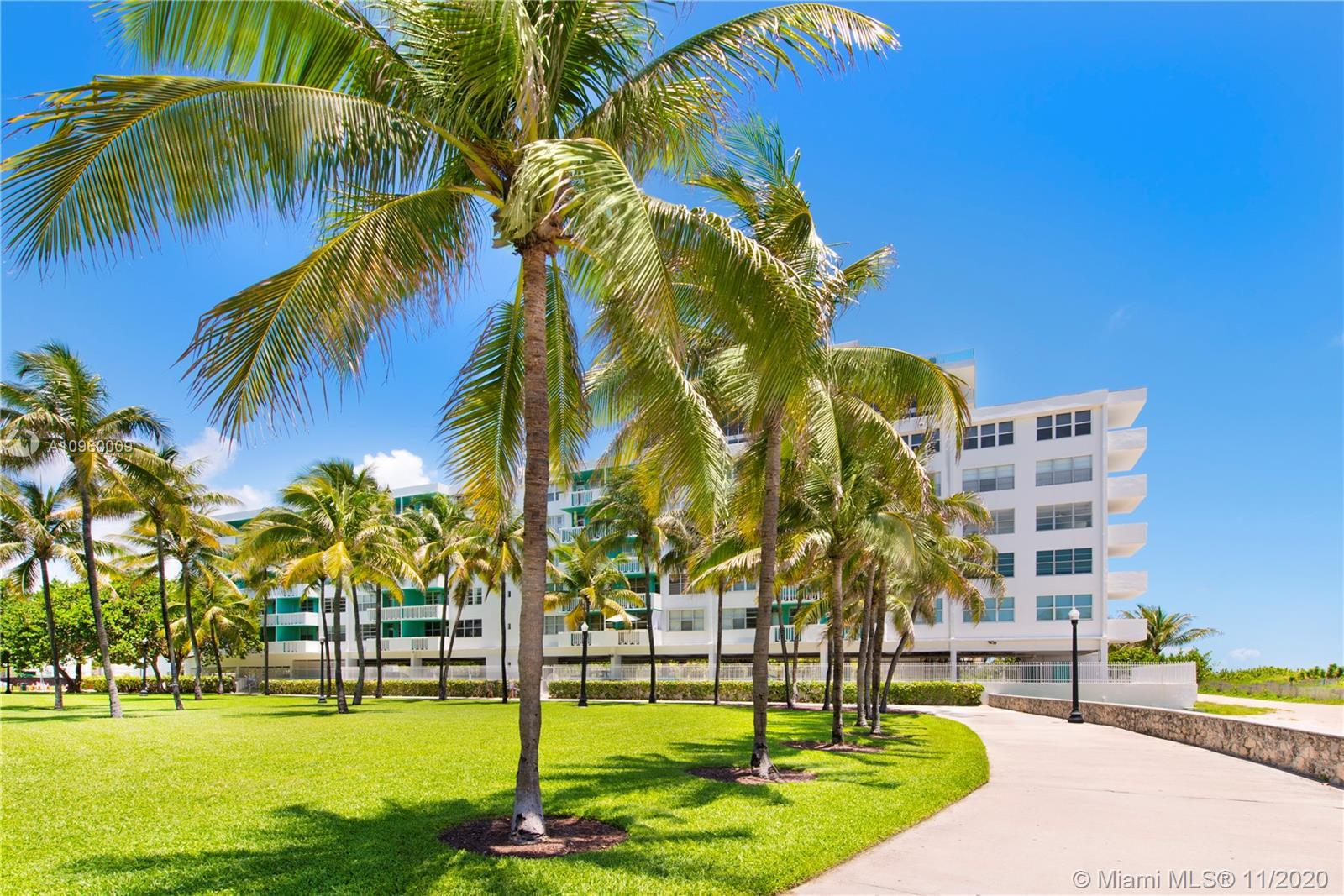 The ultimate ocean view Beach Pad on the sand on Miami Beach's top location! No expense spared in th