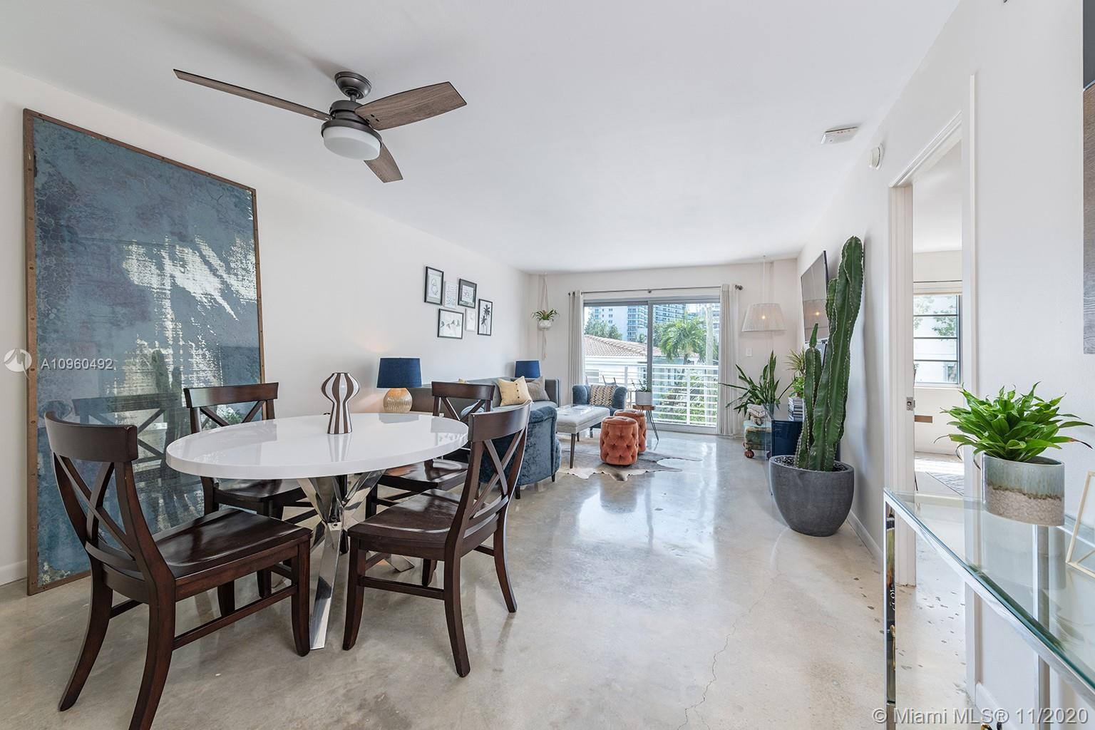Live on Lincoln Road in a well-designed, spacious unit in the best location on South Beach! Same own