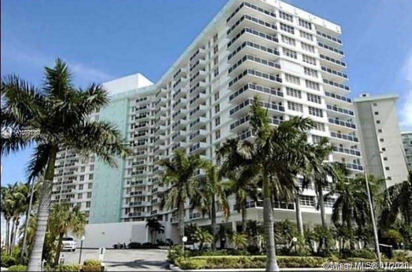 Resort style living in this wonderful building with amenities you will love.  This large 1 bedroom,