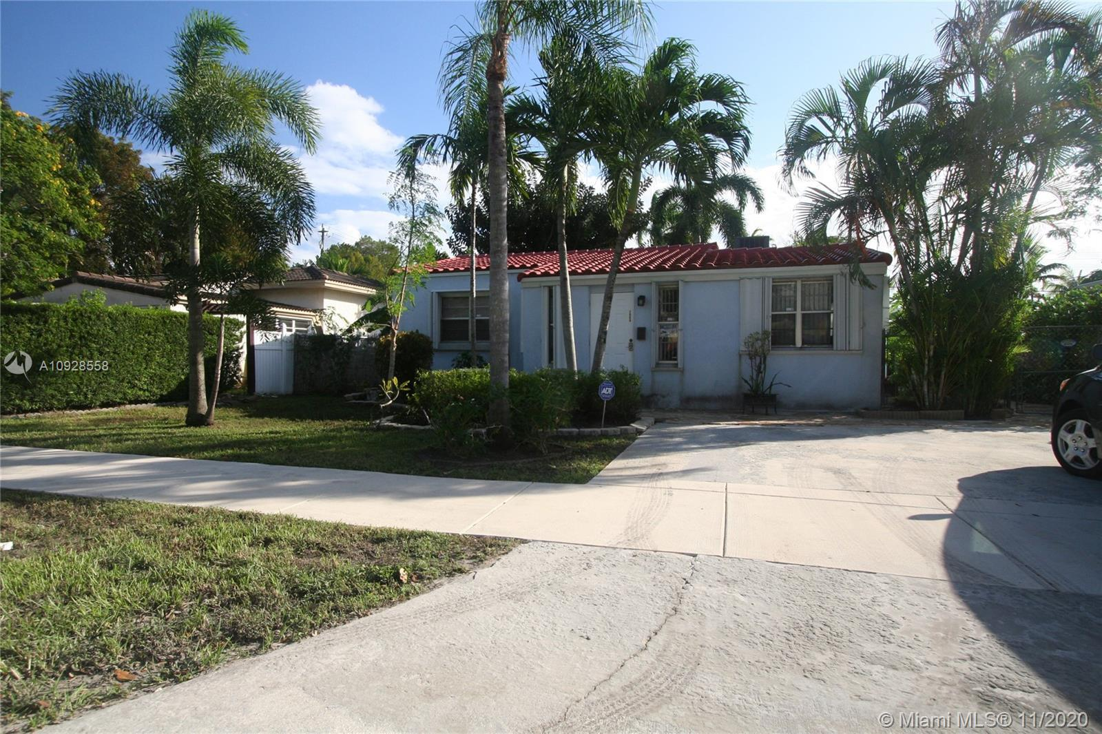 Enjoy the outdoors and garden o this Adorable bungalow style pool home with 3 bedrooms with a very r