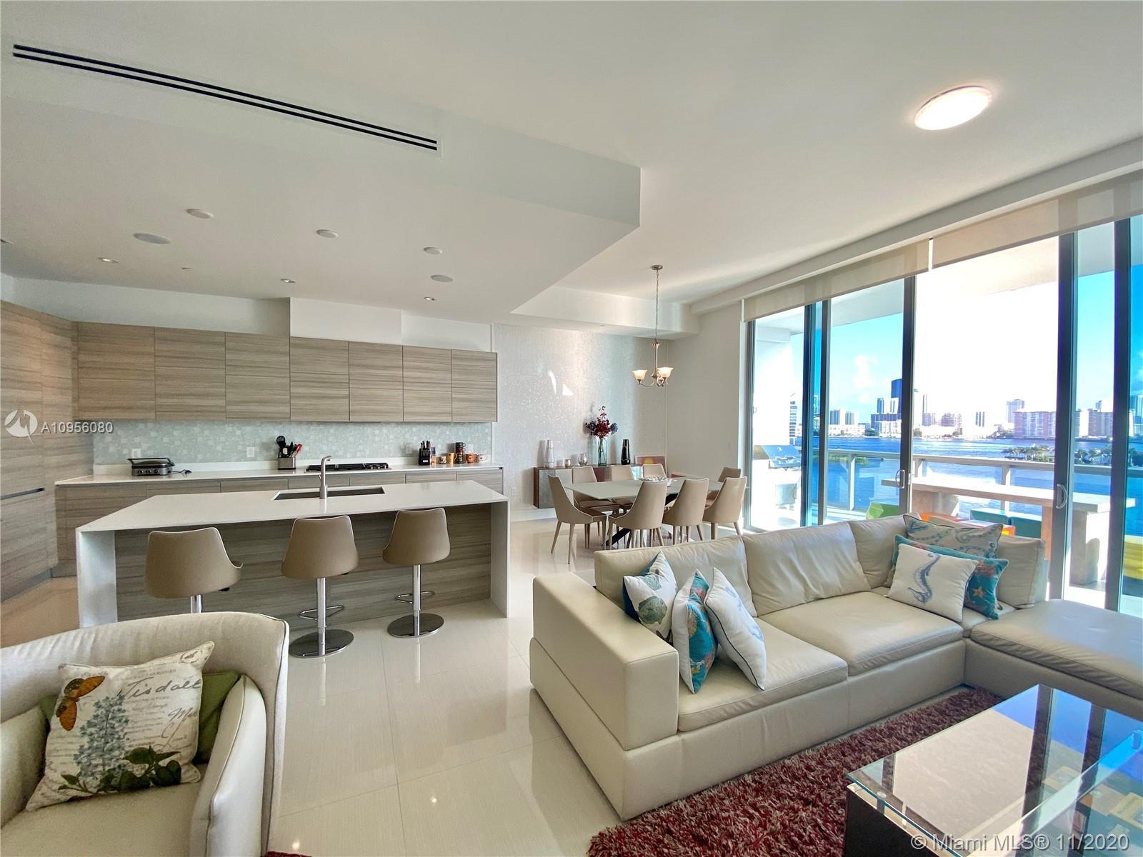 This spectacular, brand new,  4BD/4.5BA unit is one of the best deals at the Echo Aventura. Highligh