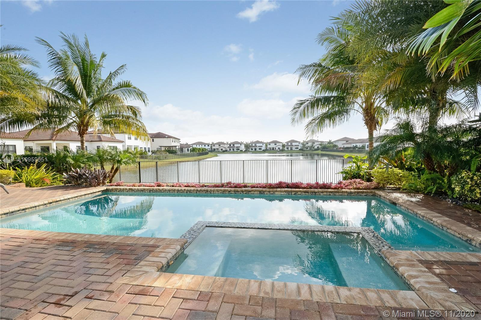 Rare opportunity in cooper City's most sought after community of Monterra. The Cambria Model is an E