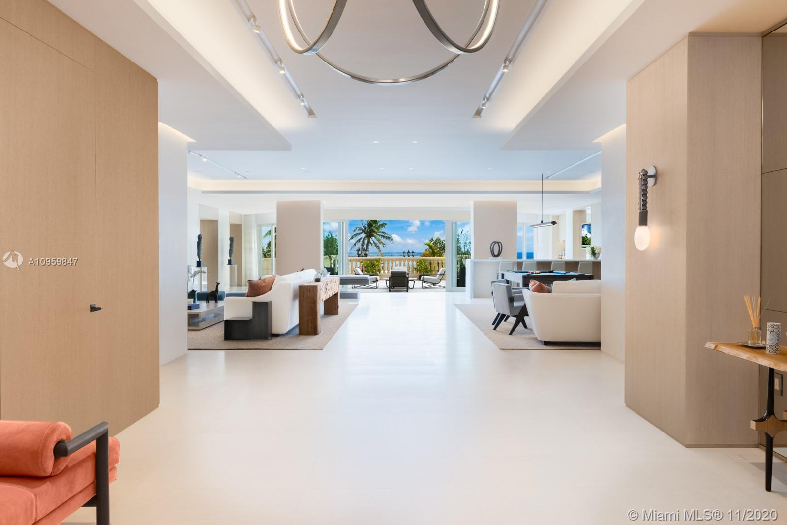 Encompassing over 12,000 Square feet of interior and exterior living space on exclusive and prestigi